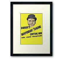 Badger's Independent Trading Framed Print