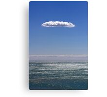 clouds about atlantic ocean Canvas Print