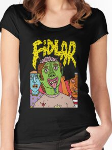 fidlar  Women's Fitted Scoop T-Shirt