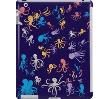 octopuses party 2 iPad Case/Skin