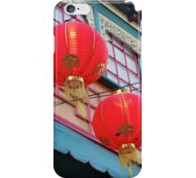 two chinese lanters iPhone Case/Skin