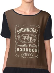 Firefly Serenity Valley Bourbon Chiffon Top