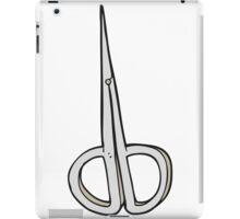 cartoon nail scissors iPad Case/Skin
