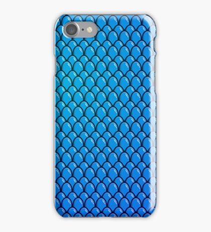 Blue Dragon Scale iPhone Case/Skin