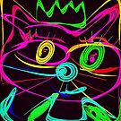 Pussycat glows in the  dark by Kater