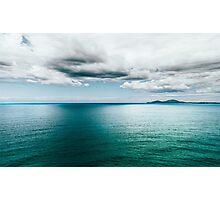 Blue Vapour Photographic Print