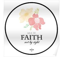 Faith Quote Poster