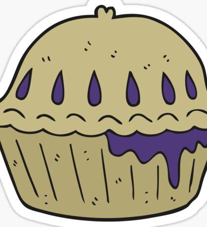 cartoon pie Sticker