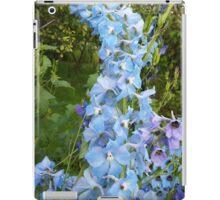 flowers vegetable spring garden iPad Case/Skin