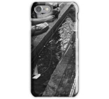 boat on a string iPhone Case/Skin