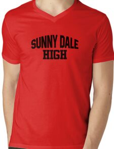 Sunnydale High black Mens V-Neck T-Shirt