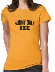 Sunnydale High black Womens Fitted T-Shirt