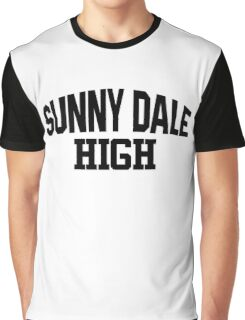 Sunnydale High black Graphic T-Shirt