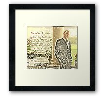 Shakespeare Freddie Framed Print