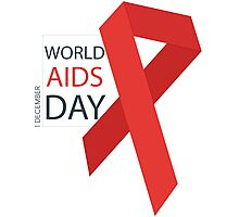 Aids Day - 1 December Photographic Print