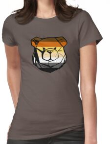 Robust Bear Flag Womens Fitted T-Shirt
