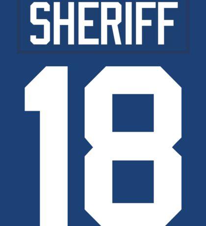 Sheriff Jersey Sticker