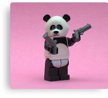 Banksy Panda  Canvas Print