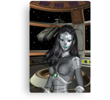 Space Cadet Canvas Print