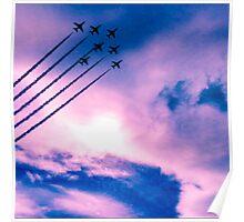 Purple Planes Poster