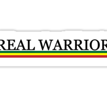 REAL WARRIOR Sticker