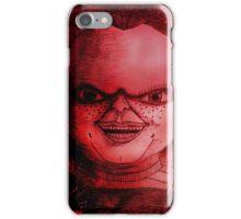 Scary Slasher  Doll iPhone Case/Skin