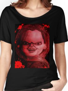 Scary Slasher  Doll Women's Relaxed Fit T-Shirt