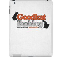 Goodkat & Baddog (Lucky Number Slevin) iPad Case/Skin