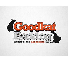 Goodkat & Baddog (Lucky Number Slevin) Photographic Print