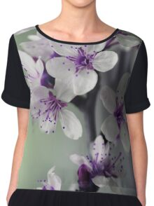blossoms Chiffon Top
