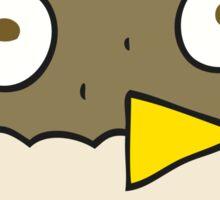 cartoon owl Sticker