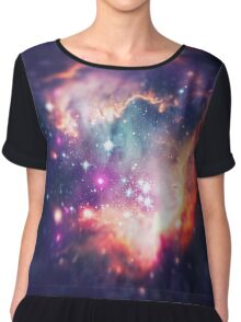 The Universe under the Microscope (Magellanic Cloud) Chiffon Top