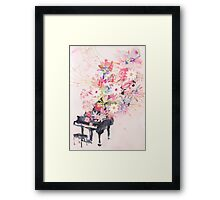 TAYLOR SWIFT PIANO  Framed Print