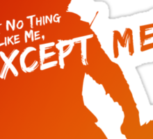 Rocket Raccoon - Ain't No Thing Like Me, Except Me! Sticker