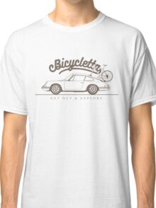 Bicycletta 'Get Out And Explore' Classic T-Shirt