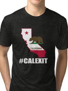 #CALEXIT - CALEXIT YES SHIRT Tri-blend T-Shirt
