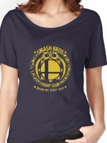 Smash Bros Fight Club Women's Relaxed Fit T-Shirt