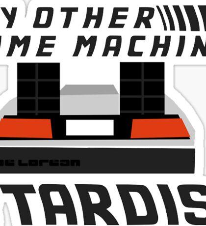 DeLorean, Back to the Future Sticker
