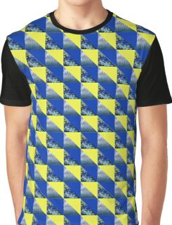 Triangles and Stripes Graphic T-Shirt