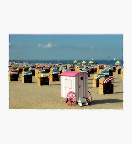 seaside resort Photographic Print