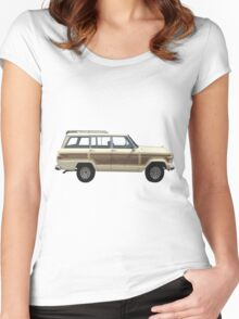 Jeep Wagoneer Women's Fitted Scoop T-Shirt
