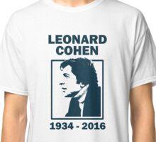 Leonard Cohen  Classic T-Shirt