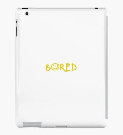 Bored, Sherlock iPad Case/Skin