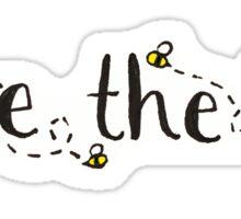 Save The Bees Sticker Sticker