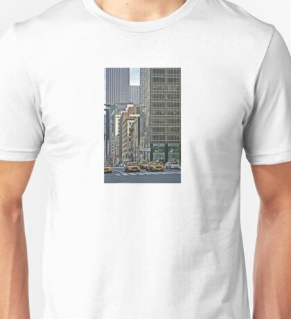 NYC-Yellow Cabs Unisex T-Shirt