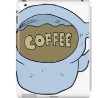 cartoon coffee mug iPad Case/Skin