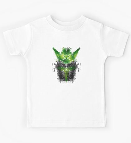 Rorschach Yoda Kids Tee