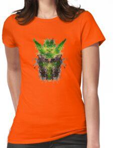 Rorschach Yoda Womens Fitted T-Shirt