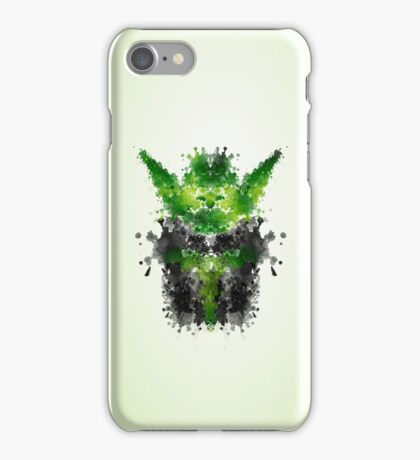 Rorschach Yoda iPhone Case/Skin