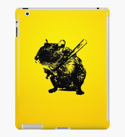 Angry mouse iPad Case/Skin